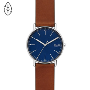 mens watches shop guys watches signatur leather watch