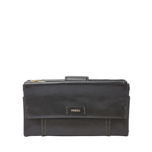 Fossil Ellis Clutch Sl7104001 Color: Black Wallet