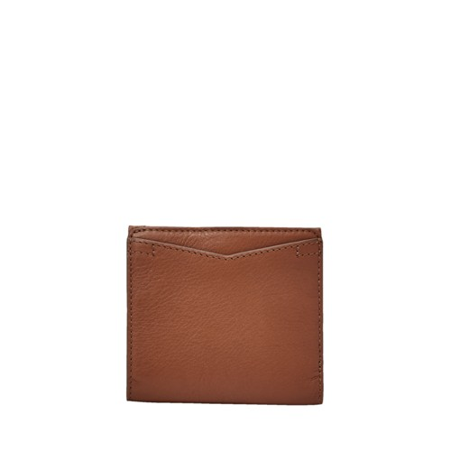 Fossil Caroline Rfid Mini Wallet Sl7351200 Color: Brown Wallet