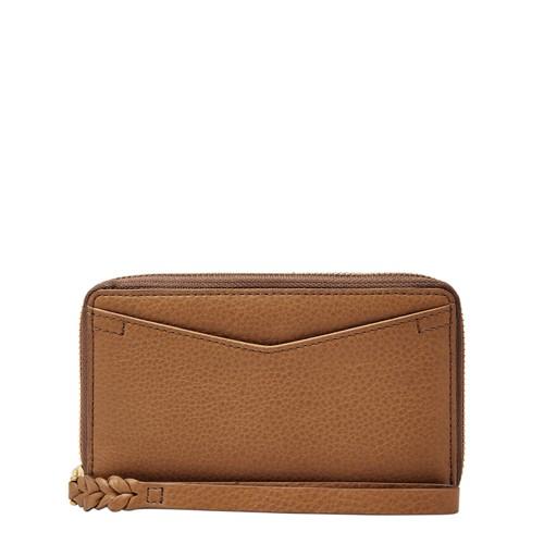 Fossil Caroline RFID Smartphone Zip Around Wallet SL7352216
