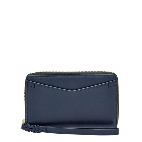 Fossil Caroline RFID Smartphone Zip Around Wallet SL7352406