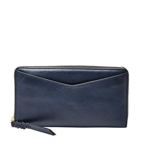 Fossil Caroline RFID Zip Around Wallet SL7354406