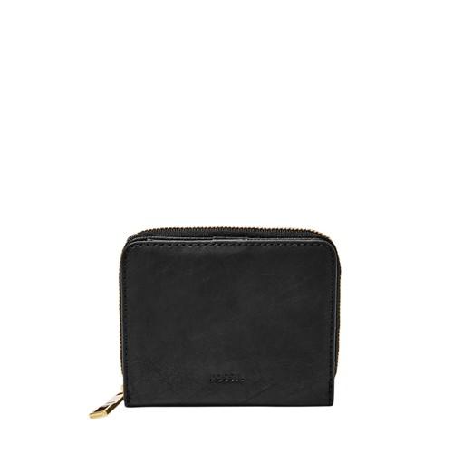 Fossil Emma Rfid Mini Multifunction Sl7533001 Color: Black Wallet