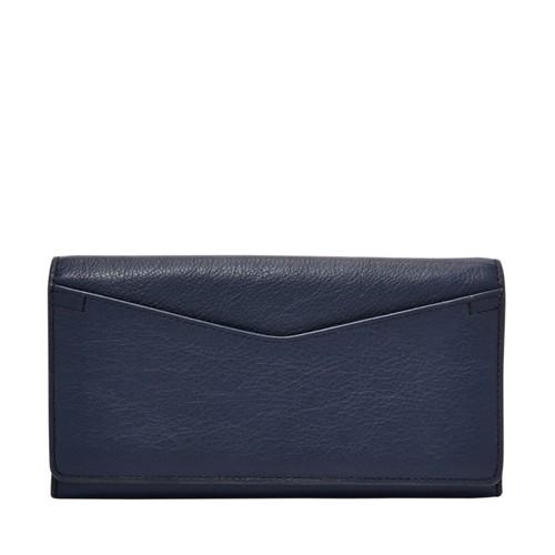 Fossil Caroline Rfid Continental Flap Wallet Sl7554200 Color: Brown Wallet