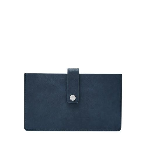 Fossil Vale Medium Tab Wallet Sl7556977 Color: Cerulean Wallet