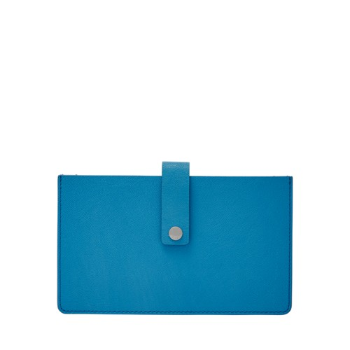 Fossil Vale Medium Tab Wallet Sl7556977 Color: Cerulean Wallet
