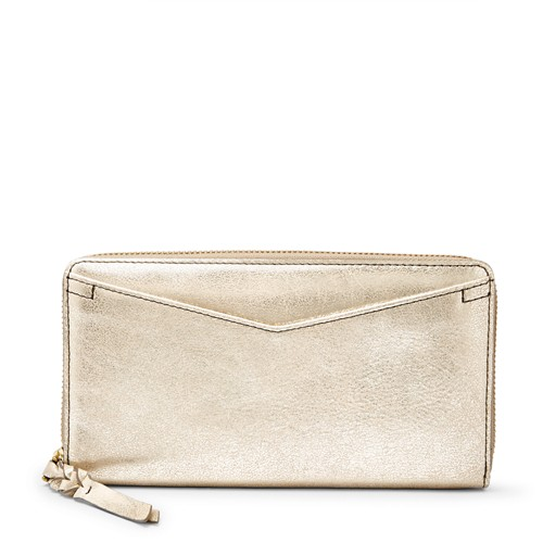 Fossil Caroline Rfid Zip Around Wallet Sl7631751 Wallet