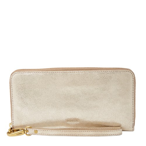 Fossil Emmarfid Large Zip Clutch Sl7654751 Wallet