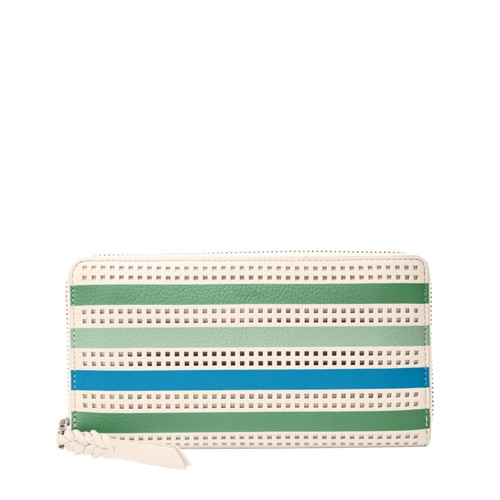 Fossil Caroline RFID Zip Around Wallet SL7668373