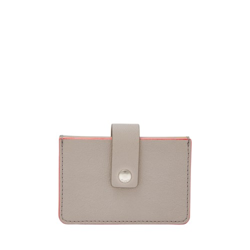 Fossil Mini Tab Wallet Sl7673055 Color: Mineral Gray Wallet