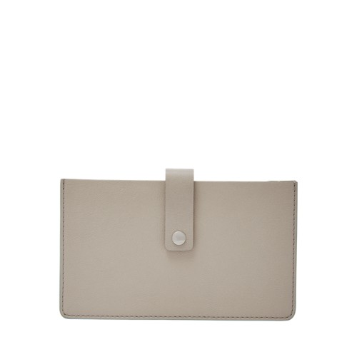 Fossil Vale Medium Tab Wallet Sl7680055 Color: Mineral Gray Wallet
