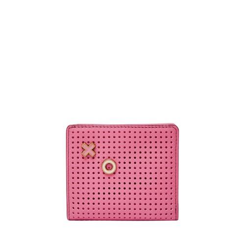Fossil Emma Rfid Mini Wallet Sl7687671 Color: Wild Rose Wallet
