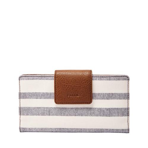 Fossil Emma Rfid Tab Clutch Sl7708566 Wallet