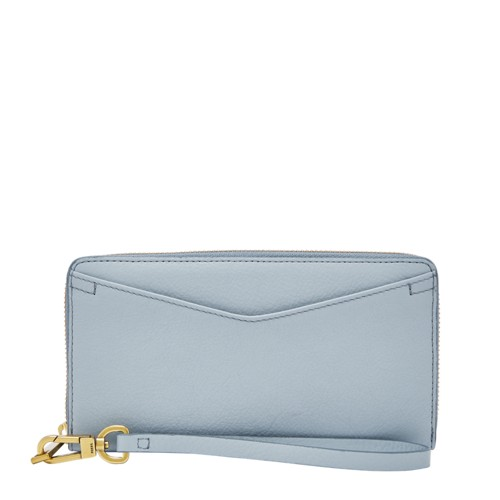 Fossil Caroline RFID Zip Around Wallet SL7795436