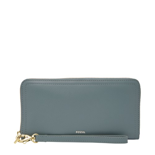 Fossil Logan RFID Zip Around Clutch SL7831197