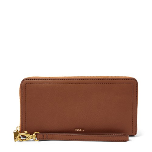 Fossil Logan RFID Zip Around Clutch SL7831200