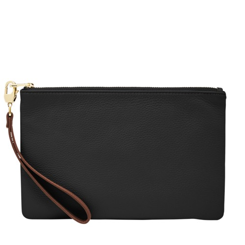 Fossil Wristlet  Accessories Black