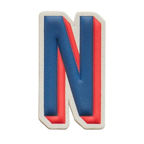 Fossil Letter N Sticker Slg1053998