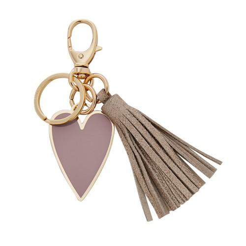 Fossil Heart Tassel Keyfob SLG1222522