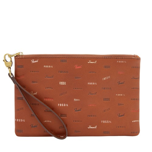 Fossil Wristlet  Accessories Brown Multi