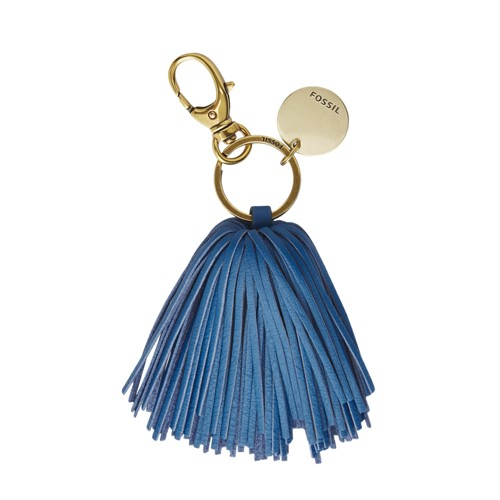 Fossil Keychain  Accessories Malibu Blue