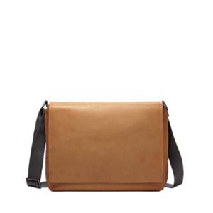 Eric Leather Messenger Bag