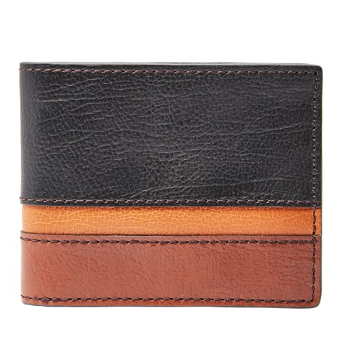 Fossil Easton Rfid Traveler Sml1434016 Wallet