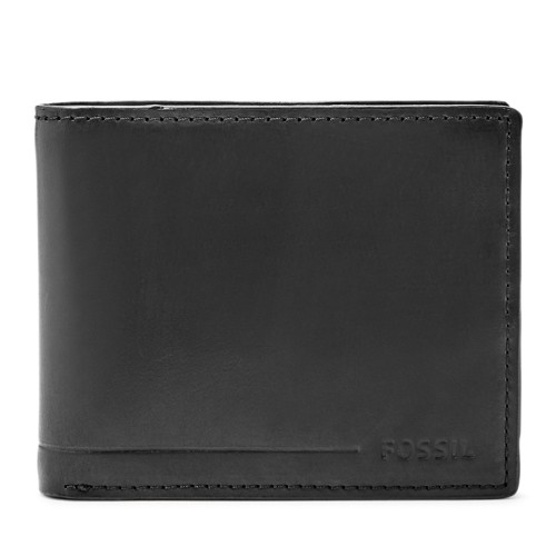 Fossil Allen Rfid Traveler Sml1547001 Color: Black Wallet