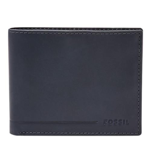 Fossil Allen Rfid Traveler Sml1547001 Color: Black Wallet