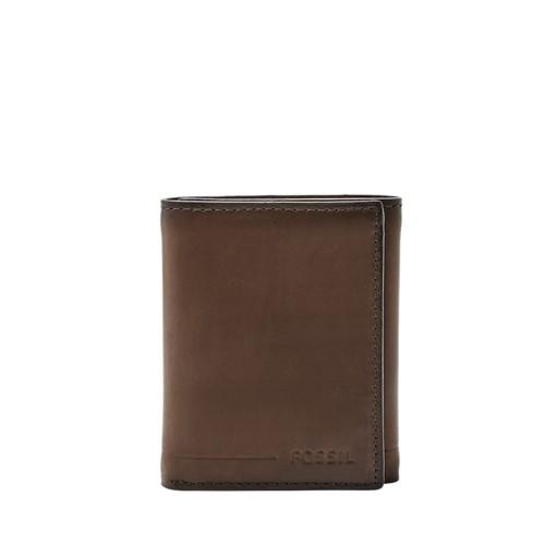 Fossil Allen Rfid Trifold Sml1550001 Color: Black Wallet