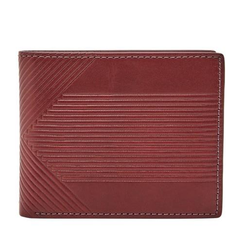 Fossil Duncan Rfid Traveler Sml1622603 Wallet