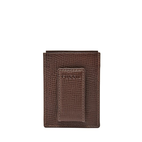 Fossil Walton RFID Magnetic Front Pocket Wallet SML1651017