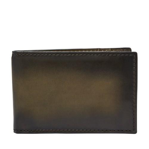 Fossil Hayward RFID Money Clip Front Pocket Wallet SML1663345