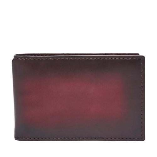 Fossil Hayward RFID Money Clip Front Pocket Wallet SML1663603