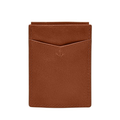 Fossil Ludlow RFID Magnetic Front Pocket Wallet SML1665222