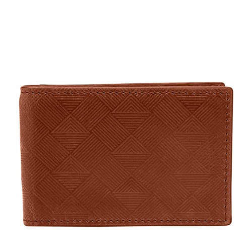 Fossil Exeter RFID Money Clip Front Pocket Wallet SML1667222