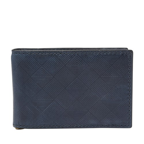 Fossil Exeter RFID Money Clip Front Pocket Wallet SML1667495