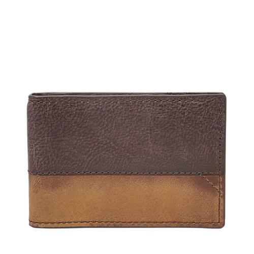 Fossil Duron RFID Front Pocket Wallet Bifold SML1715201
