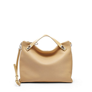 Mikkeline Leather Satchel