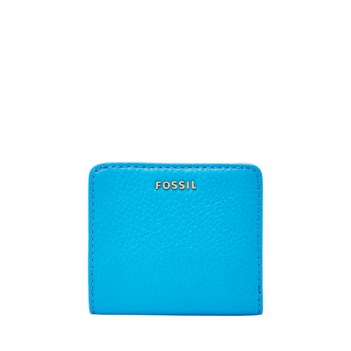 Fossil Madison Mini Wallet Swl1577977 Color: Cerulean Wallet