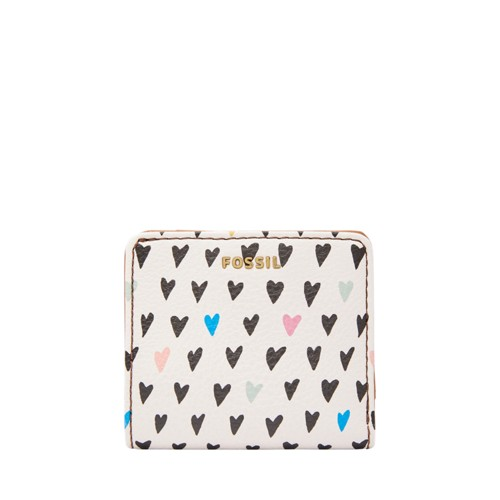 Fossil Madison Bifold Swl1952745 Color: Hearts Wallet
