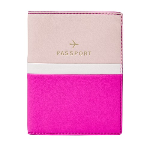 Fossil Sofia Rfid Passport Case  Accessories Fuchsia