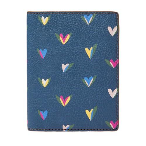 Fossil Sofia Rfid Passport Case  Accessories Hearts