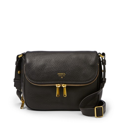 Fossil Preston Small Flap Zb5873001 Handbag