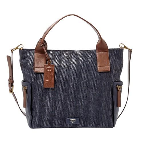 Fossil Emerson Satchel Zb6539400 Handbag