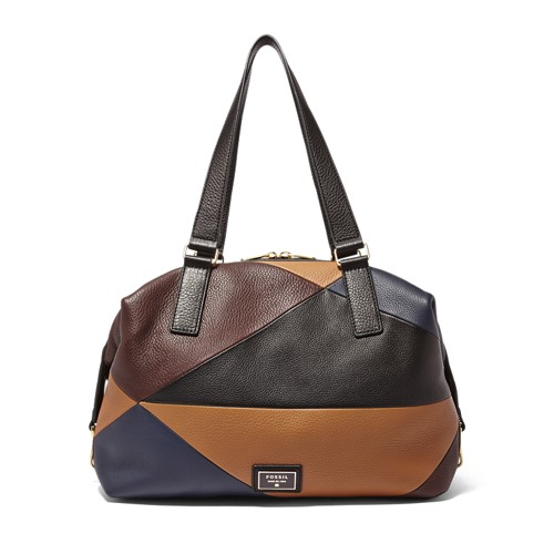 Fossil Preston Large Satchel Zb6614194 Handbag