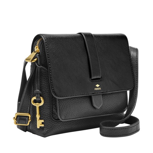 Fossil Kinley Small Crossbody Zb6749001 Color: Black