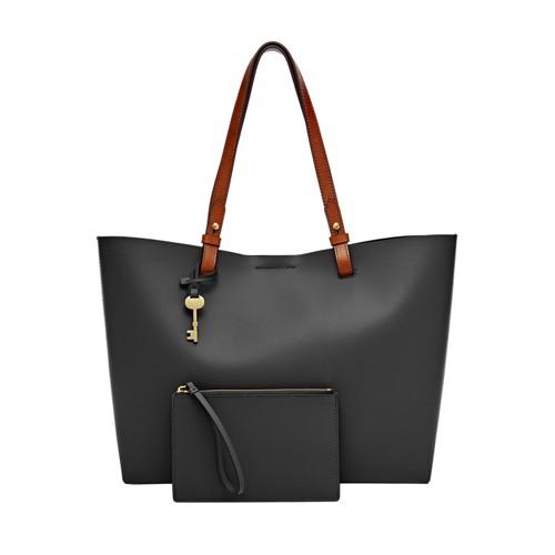 Black Handbags And Black Leather Handbags - Fossil