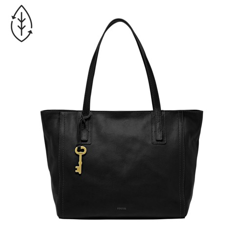Fossil Emma Tote Zb6844001 Color: Black