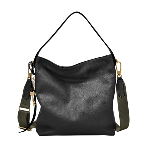 Fossil Maya Hobo Zb6979001 Color: Black